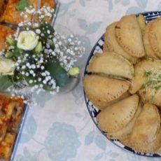 A vegan wedding spread