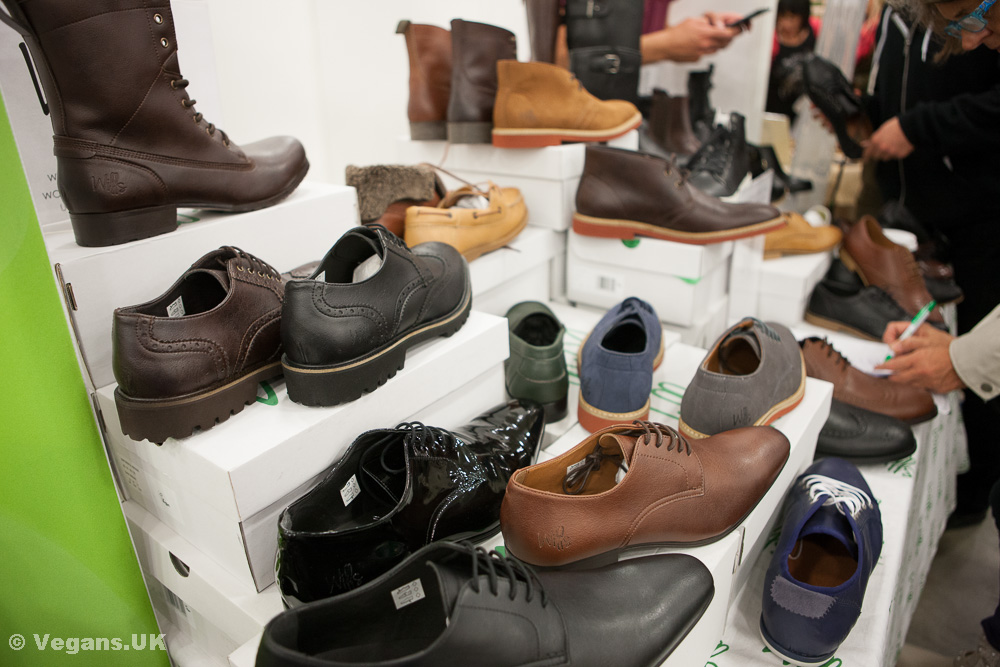 Wills vegan shoes at London Vegfest 2014