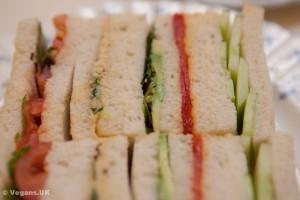 Cucumber sandwiches and friends