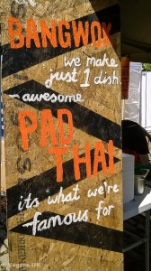 Pad Thai was a specialty