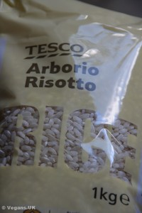 Sometimes just called Risotto Rice, Arborio is the stuff to use