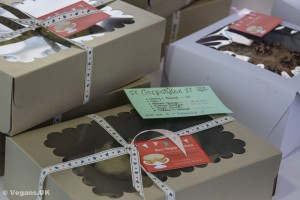 Nic's Vegan Kitchen boxed cupcakes