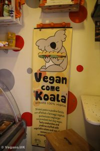 Totally vegan sandwich shop