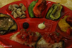 Mixed starter platter