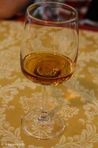 Beautiful local hazelnut liqueur