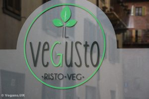 Totally vegan restaurant