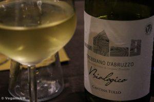 Gorgeous Italian vegan wine