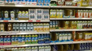 There's a huge variety of plant milk out there -try them all!