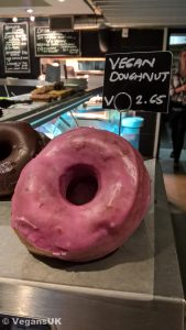 You gotta love the fact they have vegan donuts!