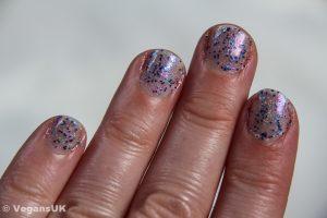 Amethyst Crush fingernails