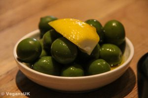 Green olives - simple, perfect